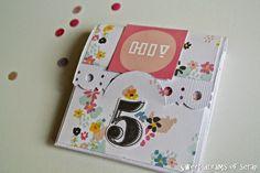 Sweet dreams of scrap: Mini álbum de bolsillo