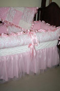 PrimaBallerina Custom crib bedding