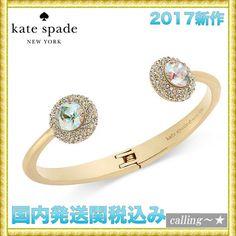 セレブ愛用者多数☆kate spade new york☆Crystal Bracelet