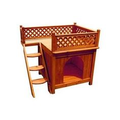 Merry Pet Wood Room with A View Pet House Dog House Cat House in Outdoor Animal Room, Animal House, Indoor Outdoor, Outdoor Cats, Outdoor Dog Houses, Dog Rooms, House Rooms, Plastic Dog House, Wood Dog House