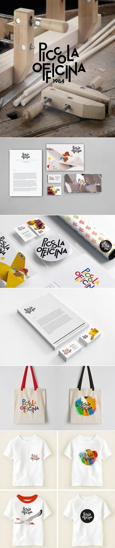 Piccola Officina toys curated by Packaging Diva PD identity packaging branding PD