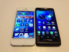 iPhone 5 vs. Motorola Droid Razr M Review