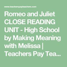 Romeo and Juliet CLO