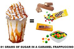 What is Really Inside A Caramel Frappuccino but i aint stopping from drinking one doe cx