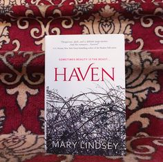 We're spending the week with a tale of ancient magic and modern society, our book date HAVEN by Mary Lindsey.