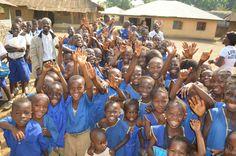 Kpotabu schoolchildren. #Africa #Kids #Cute #dogood