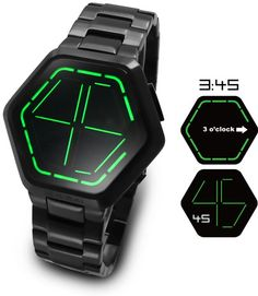 """Best """"alternative"""" timekeeper I've seen in a long time - I love the binary watches but it takes me too long to work out (clearly i'm not really geeky enough!)"""