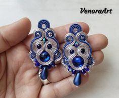 Shinning soutache earrings 😍