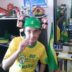 Camiseta Personalizada Roberto Torres Design Gráfico na Torcida do Brasil by Silkstars !!!