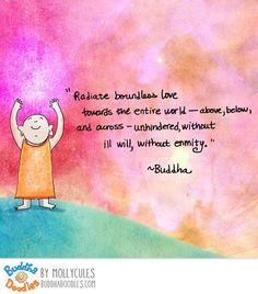 {Today's Buddha Doodle} L O V E
