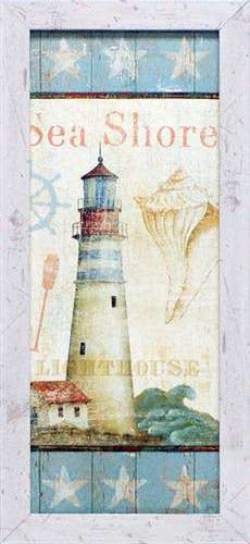 Coastal Shells I Framed Art Print SEA SHORE | Coastal Style Gifts