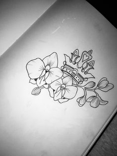 Tattoo Design Crown