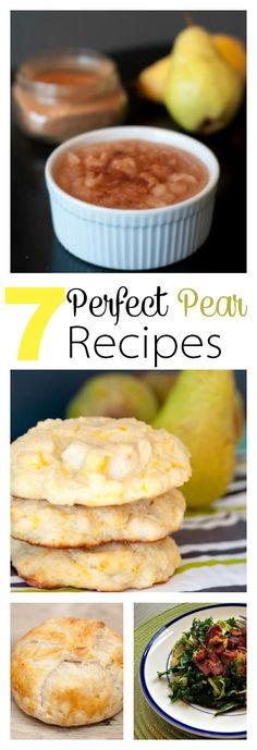 7 Perfect Pear Recip