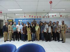 Kunjungan kerja Badan Keuangan Daerah Kota Pangkal Pinang tentang Optimalisasi Penerimaan PBB-P2 13/3
