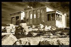 Athens Acropolis Erechtheus ,by Aderstudio