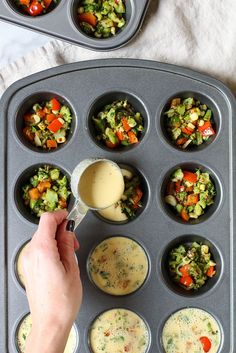 recipes kids Chickpea Flour Mini Veggie Frittatas - the perfect vegan & gluten free make ahea. Chickpea Flour Mini Veggie Frittatas - the perfect vegan & gluten free make ahead breakfast for busy weekday mornings Vegan Foods, Vegan Dishes, Vegan Vegetarian, Vegetarian Recipes, Healthy Recipes, Chickpea Flour Recipes, Kids Vegan Meals, Chickpea Meals, Vegan Recipes Veggies