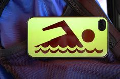Swimmer  Swim iPhone 4 or iPhone 5 Case Cover by FlipTurnTags, $10.00