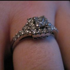 My engagement ring! :)