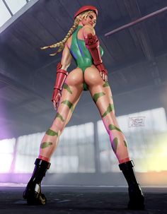 Cammy old school costume by Systembleed on DeviantArt