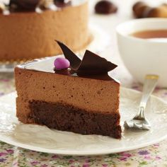Torta al cioccolato e alla crema di marroni - (4.6/5) Choco Chocolate, Chocolate Desserts, Sweet Recipes, Cake Recipes, Best Cake Ever, Joy Of Cooking, Plum Cake, Ice Cream Desserts, Dessert Drinks