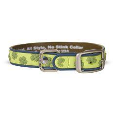 Collar Dublin Dog Azul Lot´s of Luck Gaelic Grunge - Collar para Perro - La Tienda de Frida & Chelsee