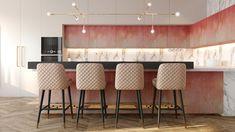 Penthouse modern de lux - Creativ-Interior Interior Projects, Decor, Bar Stools, Furniture, Interior, Modern, Home Decor, Stool, Penthouse