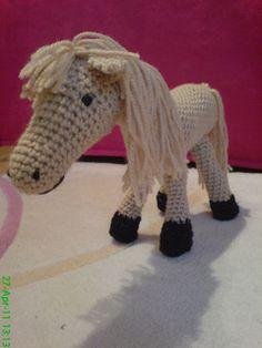 Crochet Horse on Pinterest Crochet Patterns, Free ...