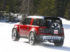 New Land Rover Defender - looks a lot better from the back!