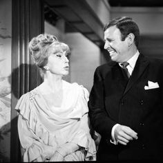 """Endora and her younger brother Arthur in his first appearance on Bewitched from Season Two's """"The Joker is a Card."""" However, it was Paul Lynde's second appearance on the show. He played Samantha's mortal driving instructor Harold Harold in Season One's """"Driving is the Only Way to Fly."""""""