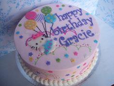 Violet hello kitty cake