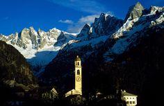 Soglio. Bergell. Graubünden. Schweiz / Soglio. Bregaglia. Grigioni. Svizzera.
