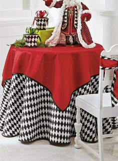 Create a tasteful holiday tabletop with the Faux Dupioni Table Topper  perfect for all your Christmas entertaining needs.