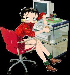 Lindas Gifs e Imagens: Betty Boop Bonecas - Gifs em Png