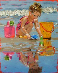 Splashes in the World: Illustrations of Summer