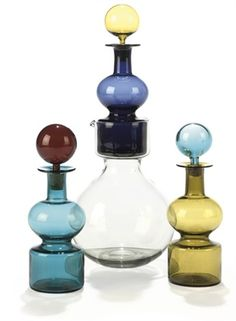 View Group of Kremlin bells decanters by Kaj Franck on artnet. Browse upcoming and past auction lots by Kaj Franck. Chair Design, Furniture Design, Foyer Design, Perfume, Bedroom Chair, Vintage Colors, Glass Design, Glass Art, Arts And Crafts
