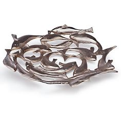 School Of Fish Plate | Gifts for Animal Lovers | Gifts | Z Gallerie