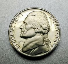 United States Uncirculated Jefferson Nickel 1957-d 5 Cents