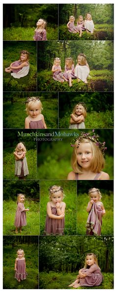 I want to do my girls in a fairy tale photo shoot like this!!!!