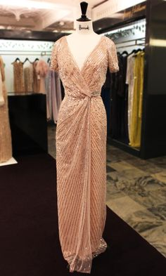 Delicately crafted, this #JennyPackham dress is the epitome of elegance… from Harrods