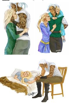Aelin and Rowan<<<that last one though