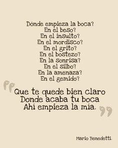 El maravilloso Mario Benedetti ♡. Aún no he encontrado a alguien que se le compare y sinceramente no creo hacerlo.