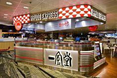 Ippudo Express Kiosk by Uni Plan Pte Ltd. at Changi Airport T3, Singapore » Retail Design Blog
