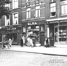 Zwart janstraat bij elra (jaren 60)