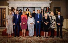 Princess Beatrix, Princess Laurentien and Princess Mabel, Kamala Ibrahim Ishaq Royal Crowns, Dutch Royalty, Royal Red, Queen Maxima, Hollywood Fashion, Red Carpet Fashion, Tweed, Awards, Culture