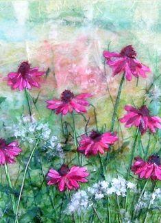 tissue paper art...victoria bellas carter @ egglestone hall