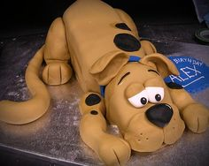 Scooby Doo Cake - Camryn says her next birthday party is going to be Scooby Doo and she wants this exact cake! Yikes!