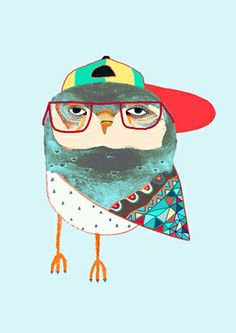 Hat Owl av Ashley Percival.