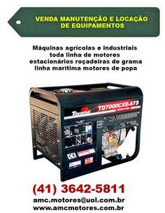 Maquinas agrícolas e Industriais toda linha de motores estacionários roçadeiras de grama linha marítima motores de popa   (41) 3642-5811  amc.motores@uol.com.br