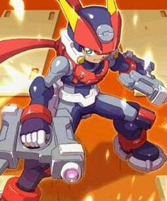 Megaman zx Advent Grey