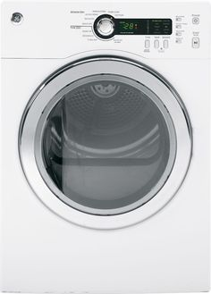 4.0 cu. ft. Electric Dryer with Stainless Steel Drum in White